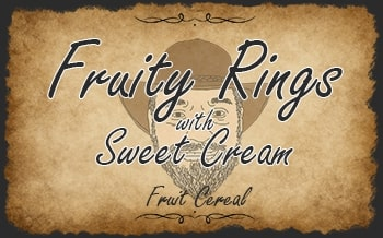Fruity Rings with Sweet Cream