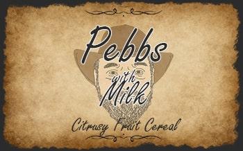 Pebbs with Milk