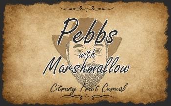Pebbs with Marshmallow