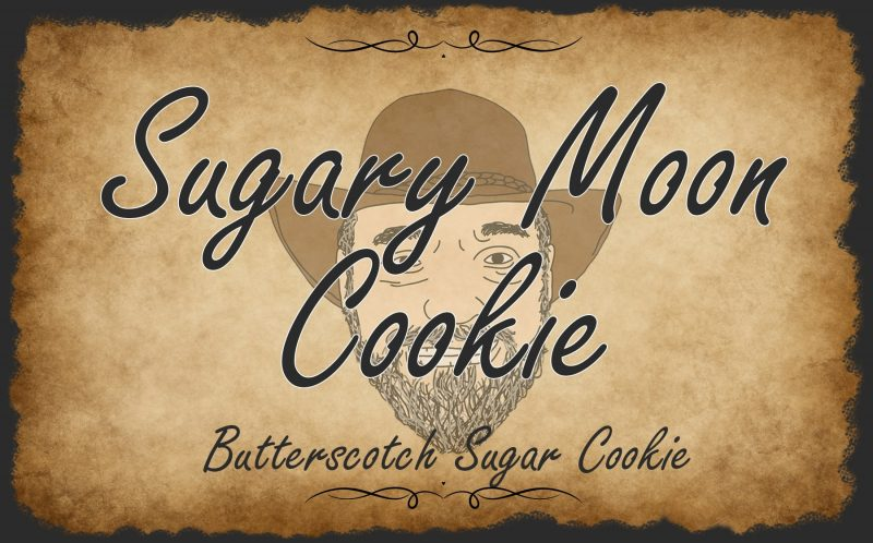 Sugary Moon Cookie