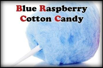 Blue Raspberry Cotton Candy
