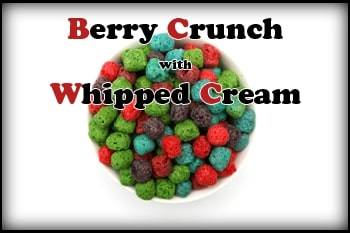 Berry Crunch with Whipped Cream