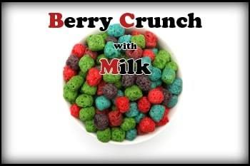 Berry Crunch with Milk