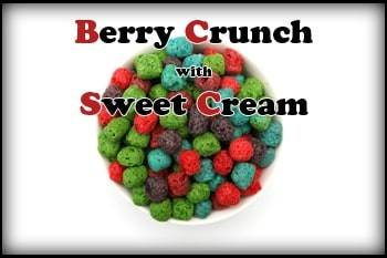 Berry Crunch with Sweet Cream