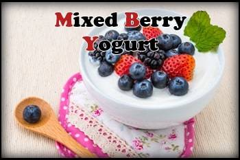 Mixed Berry Yogurt