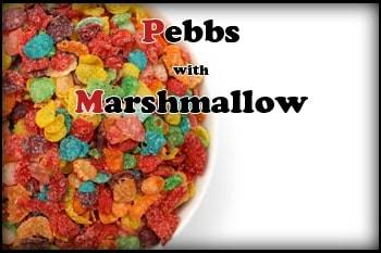 Pebbs with Marshmallow