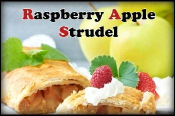 Raspberry Apple Strudel