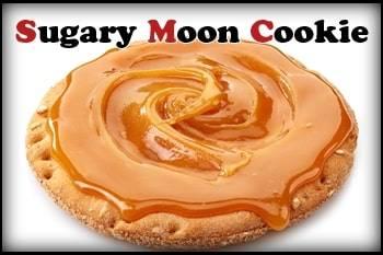 Sugary Moon Cookie